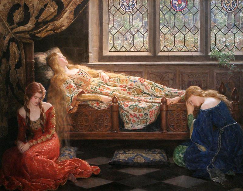 Спящая красавица (The Sleeping Beauty In The Woods), сказка Шарля Перро, аудиокнига на английском языке