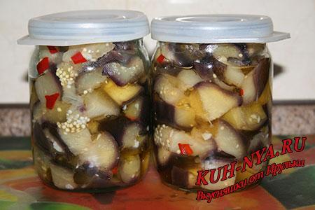 Баклажаны как грибы рецепт фото на зиму
