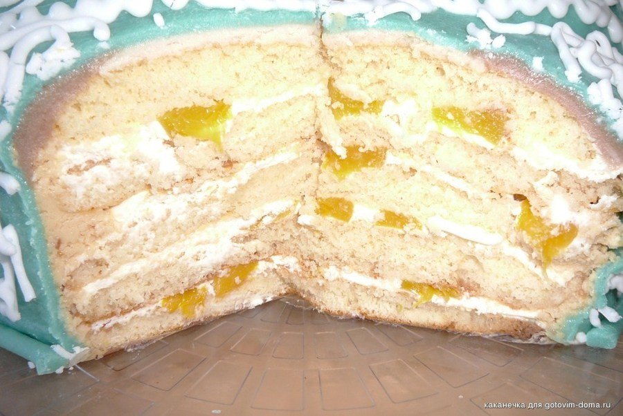 Молочная девочка торт рецепт пошагово