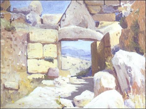 Химона Микенские ворота (470x351, 33Kb)