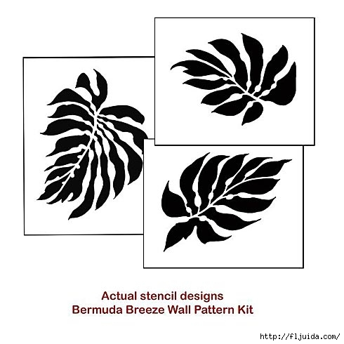 Leaf-stencil-kit (490x490, 85Kb)
