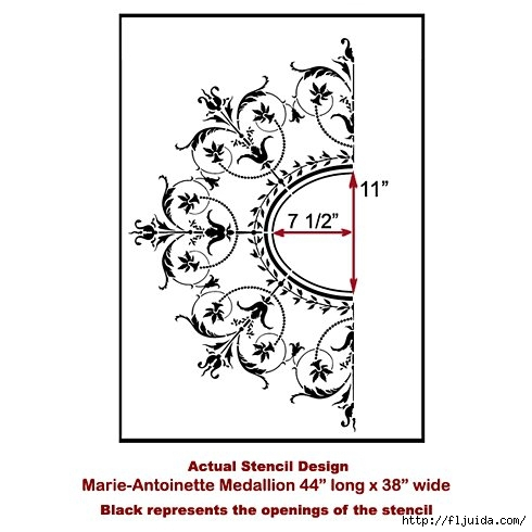 Ceiling-medallion-stencil-design (490x490, 93Kb)