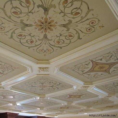 coffers-ceiling-DIY-inlay-stencil (490x490, 136Kb)