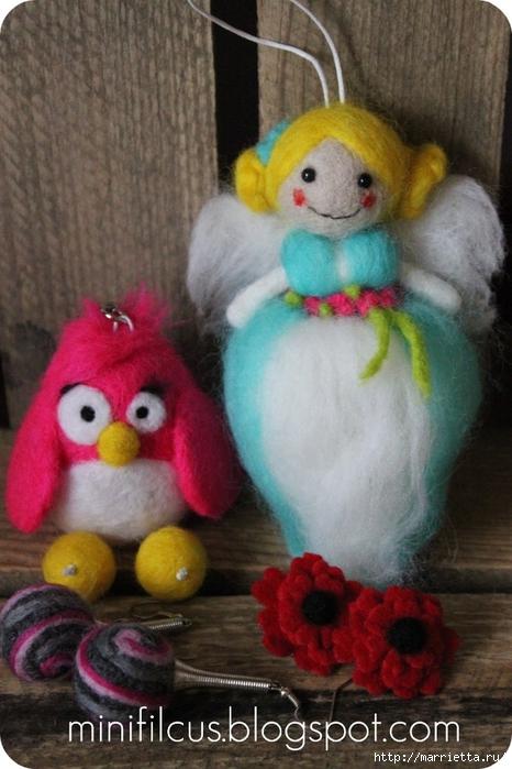 Валяние. Самые замечательные игрушки от польской мастерицы Goshia (21) (466x700, 256Kb)