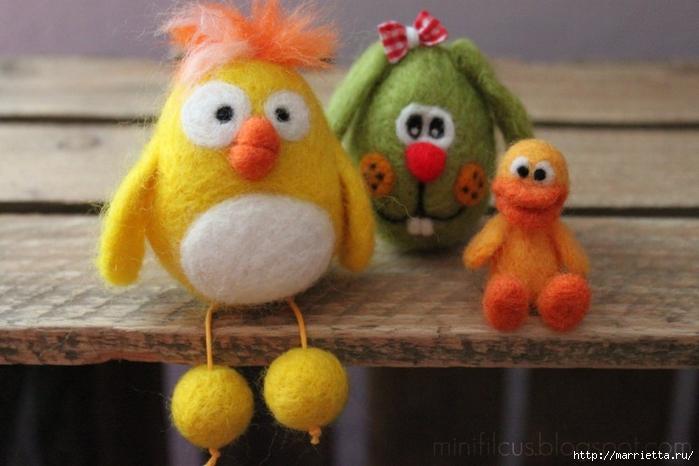 Валяние. Самые замечательные игрушки от польской мастерицы Goshia (25) (700x466, 209Kb)
