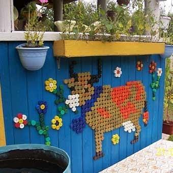 Садовая Фото дом из картона своими руками