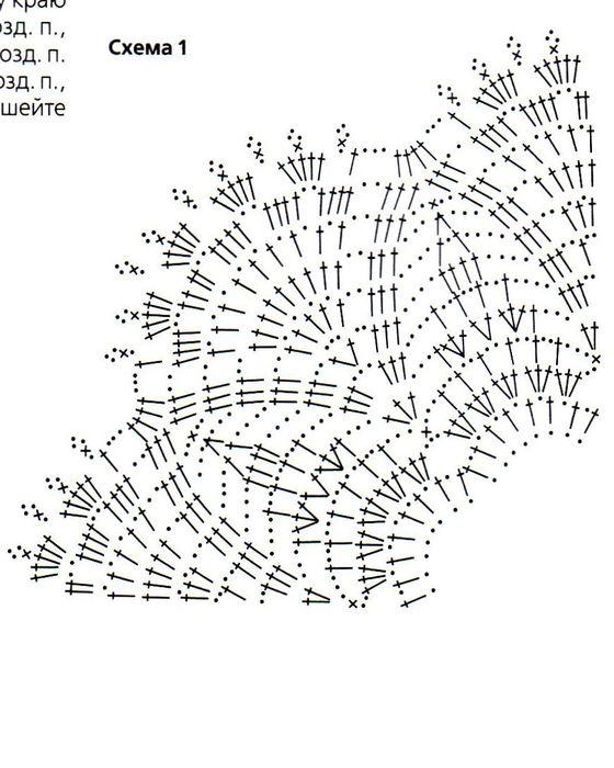 Схемы вязания воротничков для школьной формы 39
