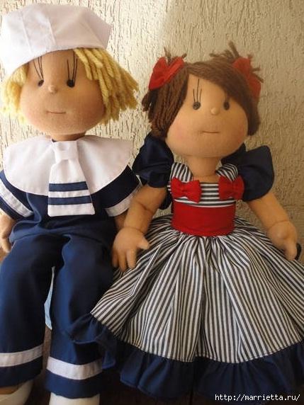 Замечательные куколки из капрона. Идеи и выкройки (2) (429x572, 178Kb)