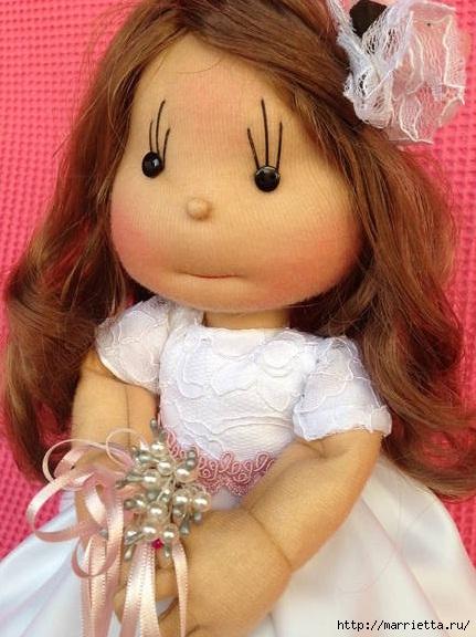 кукла с капрона своими руками