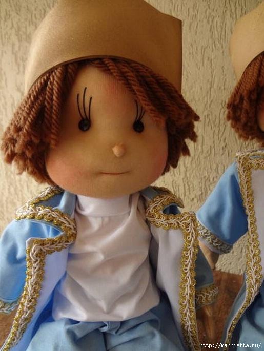 Замечательные куколки из капрона. Идеи и выкройки (6) (515x685, 200Kb)