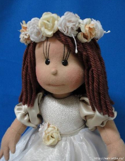 Замечательные куколки из капрона. Идеи и выкройки (8) (514x658, 169Kb)