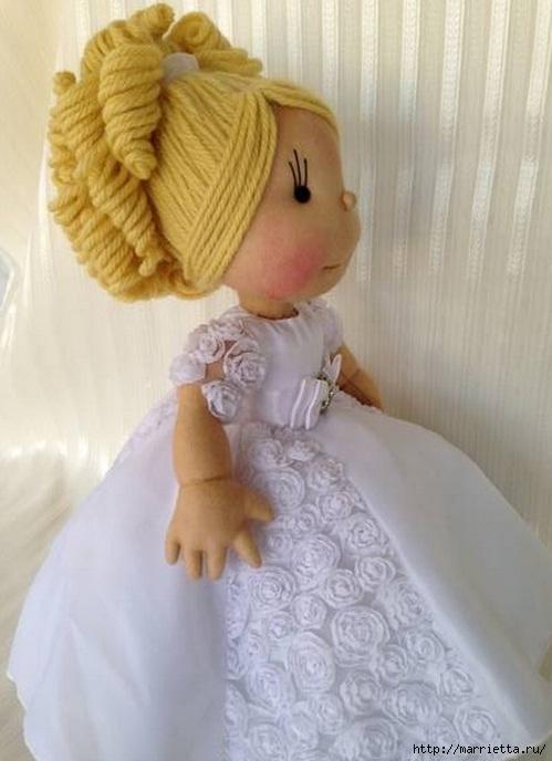 Замечательные куколки из капрона. Идеи и выкройки (21) (499x688, 155Kb)