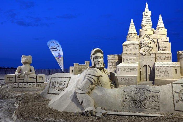 скульптуры из песка фото (700x466, 244Kb)