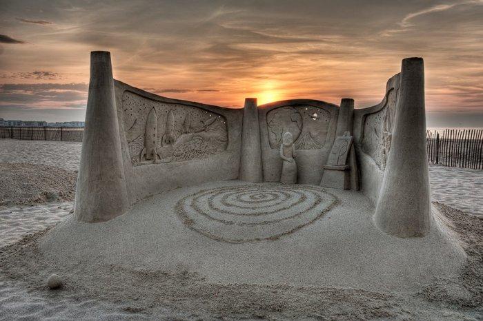 скульптуры из песка фото 4 (700x466, 222Kb)