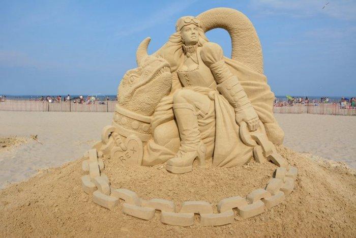 скульптуры из песка фото 6 (700x468, 211Kb)