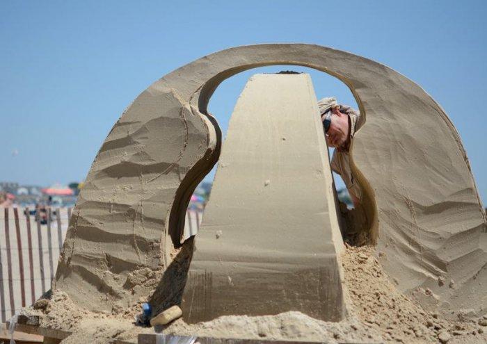 скульптуры из песка фото 8 (700x495, 189Kb)
