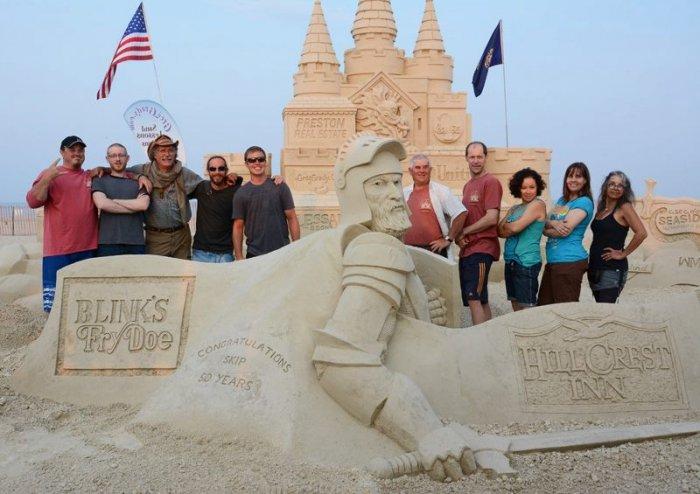 скульптуры из песка фото 10 (700x494, 235Kb)