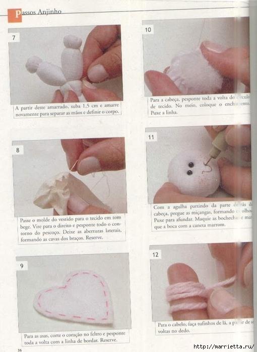 сшить куклу. журнал с выкройками (31) (510x700, 219Kb)