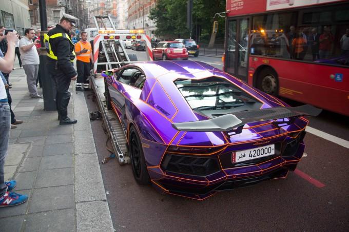 Lamborghini наследника катара арестована фото 5 (680x453, 324Kb)