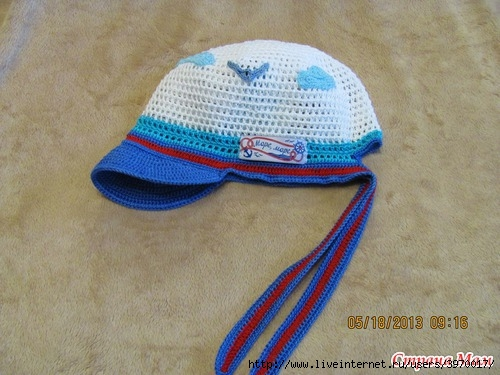 """钩针:""""男孩的帽子"""" - maomao - 我随心动"""