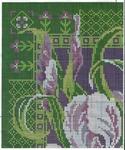 Превью Stitchart-podushka-irisy1 (585x700, 474Kb)