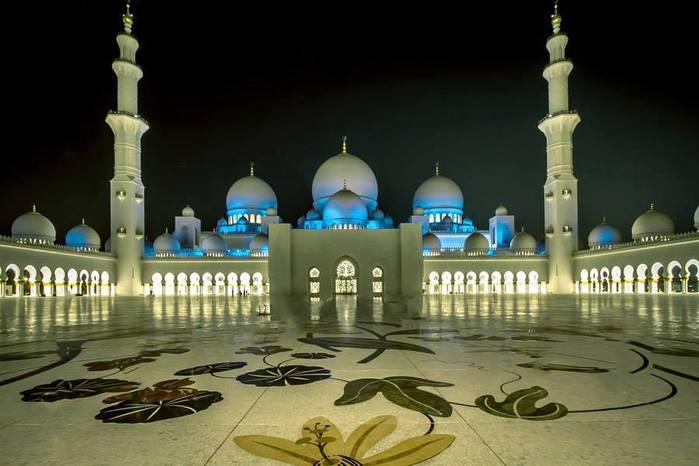 Мечеть шейха Зайда, ОАЭ (700x466, 43Kb)