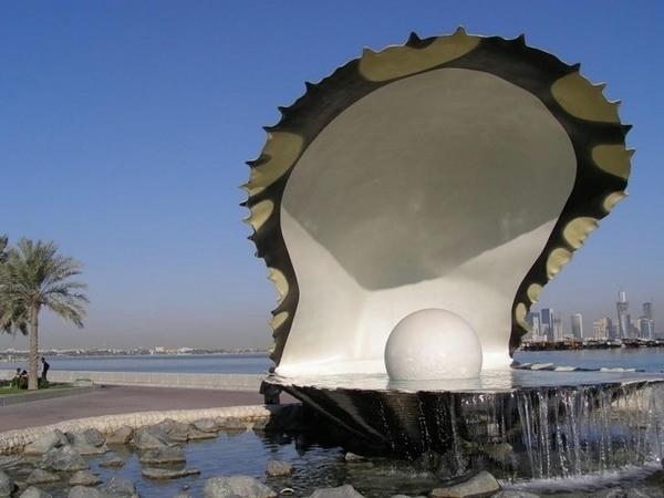 3.0Катар. Доха. Жемчужина (600x450, 112Kb)