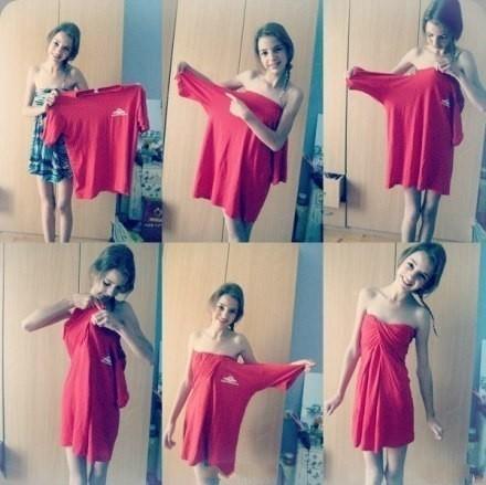 платье из футболки (440x439, 50Kb)