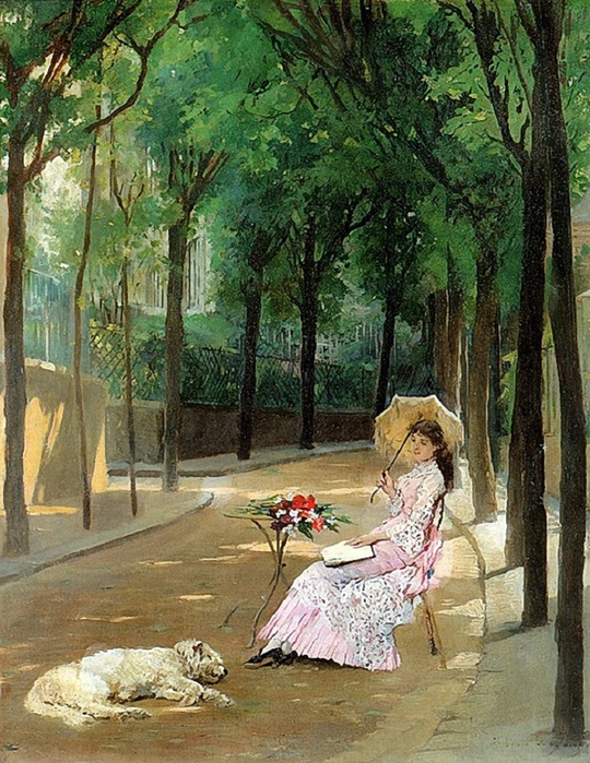 gustave_lonard_de_jonghe_-_a_lazy_afternoon (540x700, 198Kb)