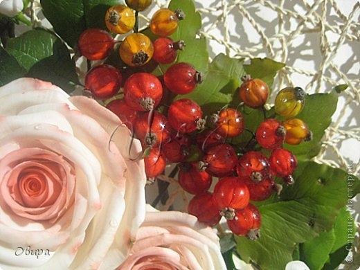 Красная смородина из ювелирной эпоксидной смолы (1) (520x390, 131Kb)