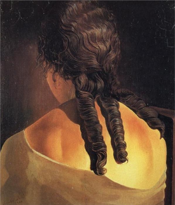 Спина девушки, 1926 (598x700, 254Kb)
