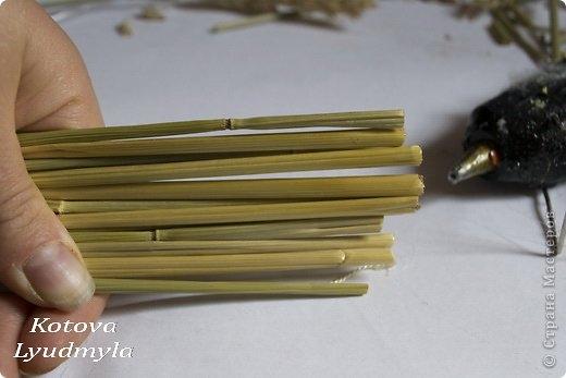 Как сделать стильный венок из соломы для украшения интерьера. Мастер-класс (2) (520x347, 76Kb)