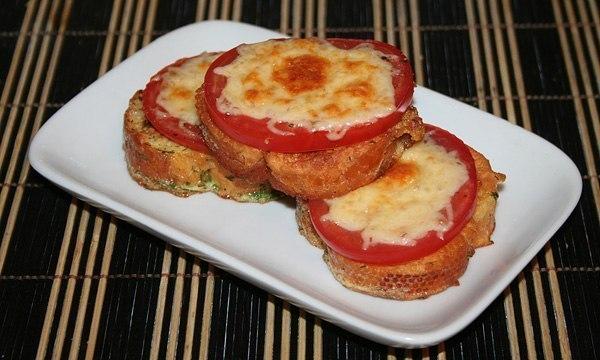 гренки с помидором и сыром (600x360, 56Kb)