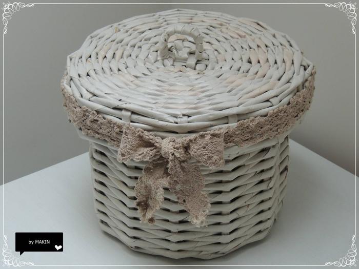 Плетение из газет. Стильные работы от Makin (41) (700x525, 225Kb)