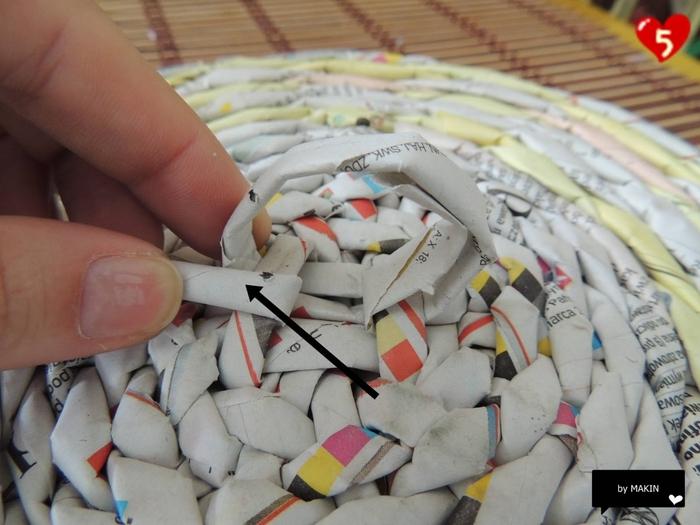 Плетение из газет. Стильные работы от Makin (49) (700x525, 242Kb)