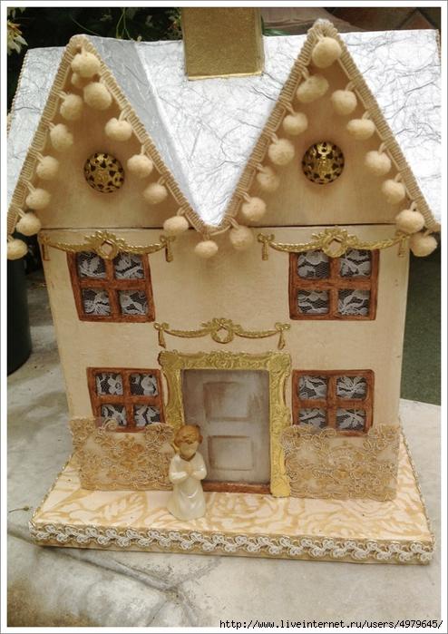 Кукольный домик из кухонной