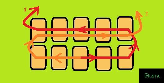 Паралелльное плетение (527x269, 100Kb)