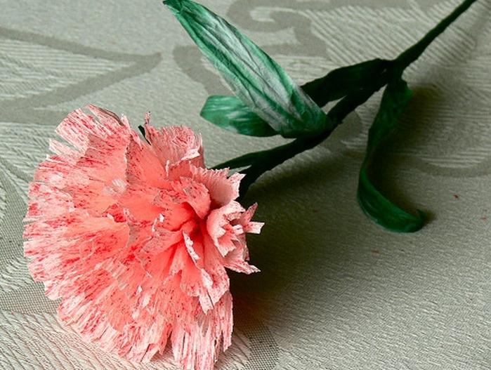 Гвоздика цветок своими руками