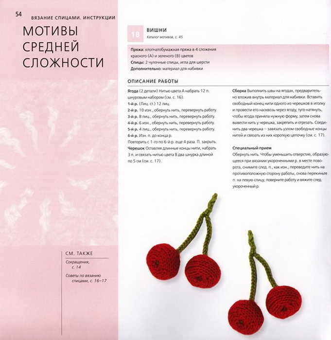 100 вязаных цветов спицами и крючком (51) (681x700, 253Kb)