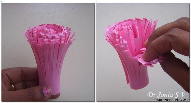 Цветы из бумаги для оформления торжества. Мастер-класс (15) (640x346, 101Kb)