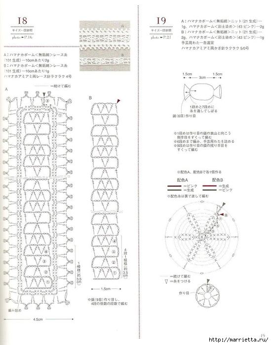 Сумки из пластиковых пакетов и украшения для сумок крючком (20) (549x700, 197Kb)