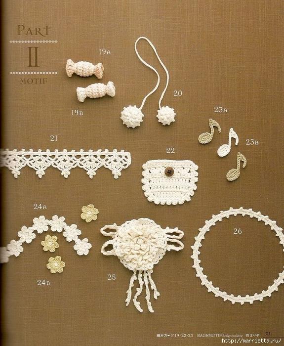 Сумки из пластиковых пакетов и украшения для сумок крючком (22) (575x700, 349Kb)