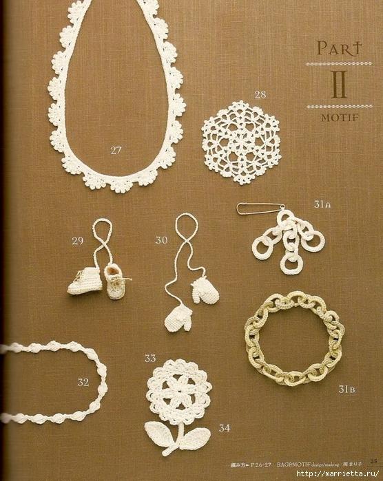 Сумки из пластиковых пакетов и украшения для сумок крючком (26) (556x700, 341Kb)