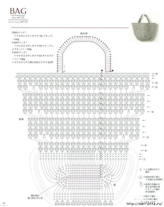Сумки из пластиковых пакетов и украшения для сумок крючком (55) (554x700, 250Kb)