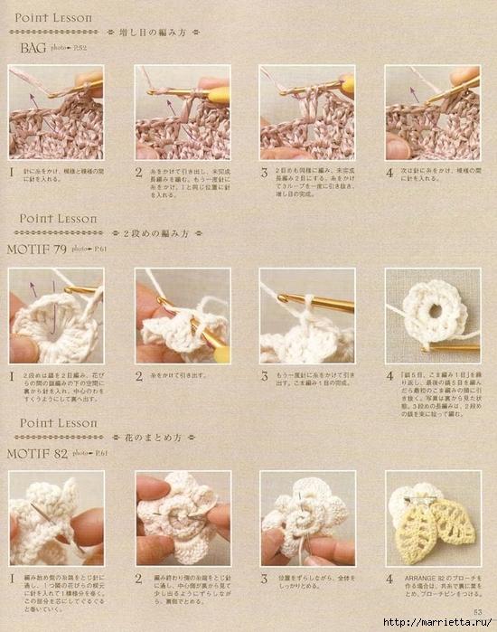 Сумки из пластиковых пакетов и украшения для сумок крючком (54) (550x700, 318Kb)