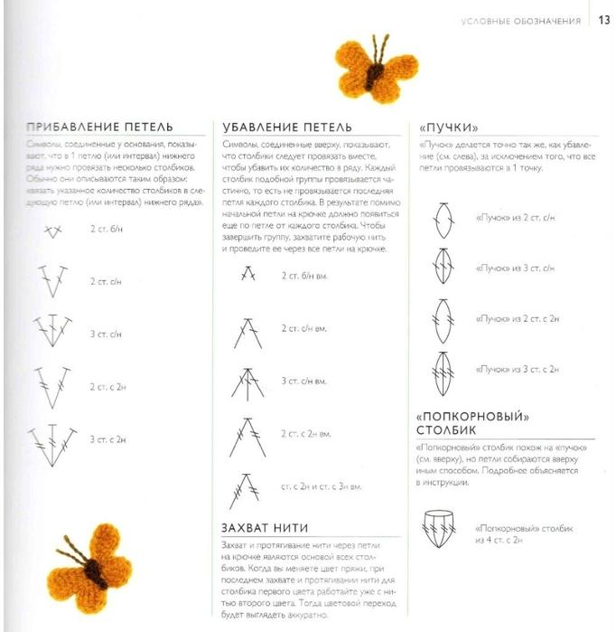 75 вязаных птиц, бабочек, жуков (23) (682x699, 170Kb)