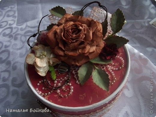 Винтажная роза из бумаги. Мастер-класс (6) (520x390, 120Kb)