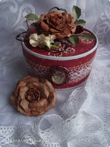 Винтажная роза из бумаги. Мастер-класс (23) (360x480, 111Kb)