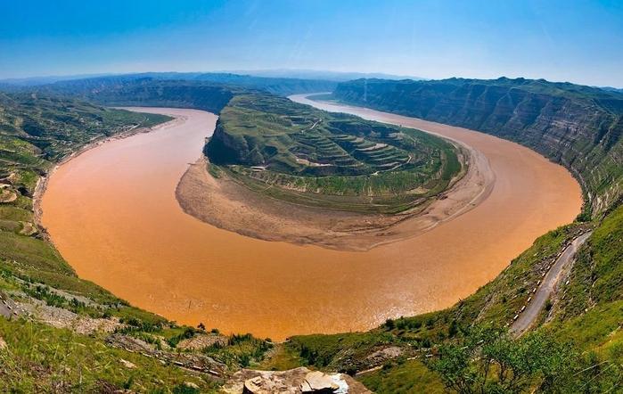река хуанхэ китай (700x442, 259Kb)