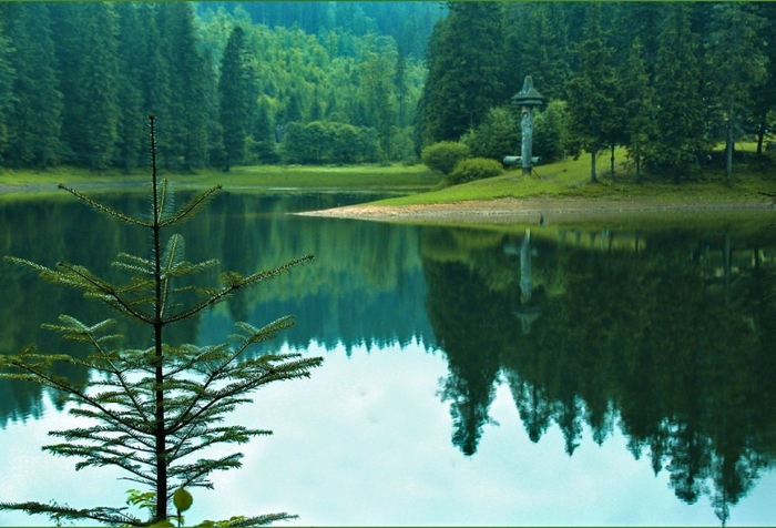 Синевир - сказочное озеро украинских Карпат (800x576, 258Kb)